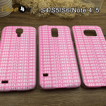 Drake Hotline bling Cases for Samsung Galaxy S4 S5 S6 Edge Note 4 5 Fashion Cover fundas capinhas