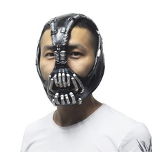 The Dark Knight Batman Movie Cosplay Prop Bane Latex Masks Adult Party Masquerade Silicone Rubber Party Face Mask for Halloween(China (Mainland))