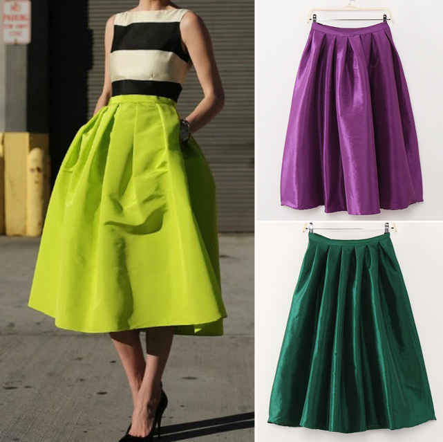 Neon midi skirts - My Fash Avenue.I would totally wear an outfit like this, love neon yellow-green Find this Pin and more on Style, Beauty & Accessories by Marilyn Sorensen. Neon midi skirts - My Fash Avenue + Black silk bodysuit tucked in not crazy about the color.