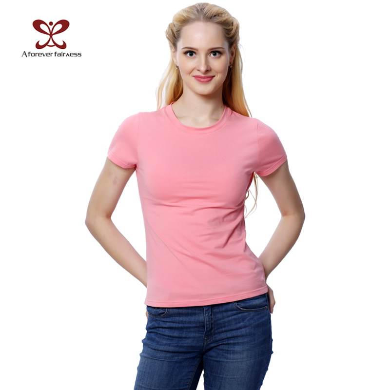 2016 new summer fashion slim casual t shirt women clothing for Women s embellished t shirts