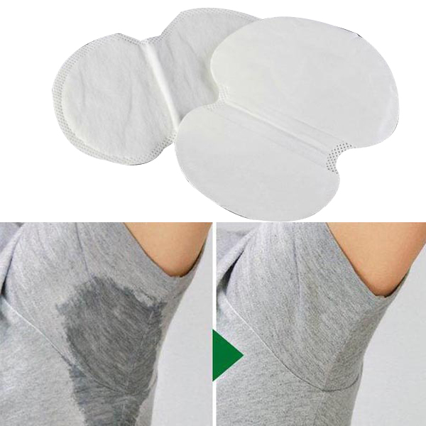 12Pc Womens Mens Summer Disposable Underarm Armpit Sweat Pads Absorbing Anti Perspiration Deodorant New Good Quality(China (Mainland))