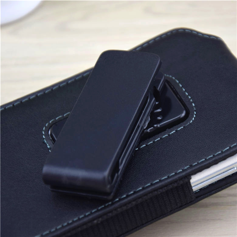 5.2-5.7″ For iPhone 6 Plus Belt Clip Holster Flip Leather Case Cover For Samsung J7 Xiaomi Redmi Note 3 Pro Mobile Phone Bag >
