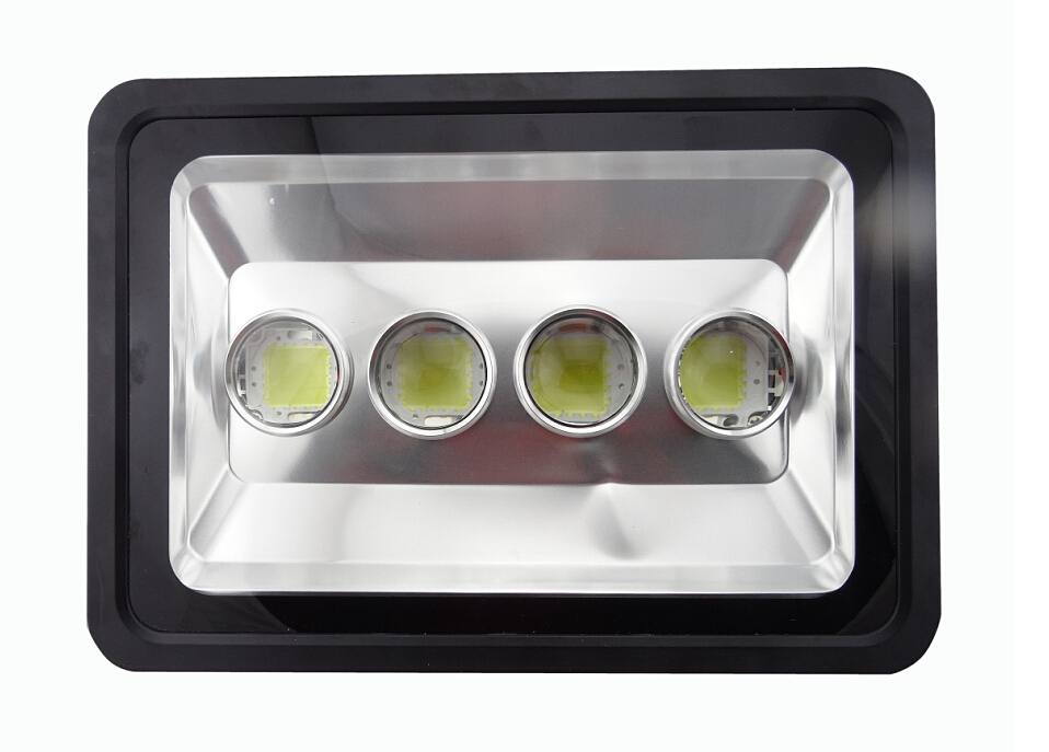 LED Floodlight Outdoor LED Flood light lamp AC85-265V 200W 300W 400W waterproof LED Tunnel light lamp street lighting spot 1X(China (Mainland))
