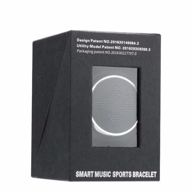 ถูก บลูทูธใหม่สมาร์ทดูRS09สร้อยข้อมือนาฬิกาข้อมือสมาร์ทที่มีเพลงลำโพงกีฬานาฬิกาS Mart W AtchสำหรับIOS A Ndroid P hone