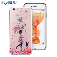 Buy iPhone 6 Case Bling Glitter Case Crystal Diamond Soft TPU Silicone Case Coque iPhone 6 6S 6 S Plus 7 7Plus Clear Fundas for $2.78 in AliExpress store