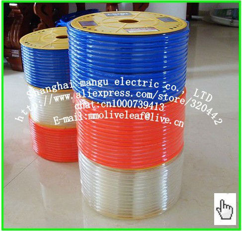 Import PU straight 14 * 10 air compressor pipe polyurethane hose 100% of pure TPU material 100 meters(China (Mainland))