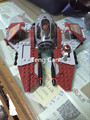 2016 New LEPIN 227Pcs Star Wars Obi Wans Jedi Interceptor Minifigures Building Blocks Sets Toys Gifts