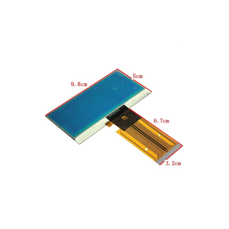 free shipping LCD DISPLAY WITH RIBBON CABLE FOR MERCEDES W203 INSTUMENT CLUSTER PIXEL REPAIR<br><br>Aliexpress