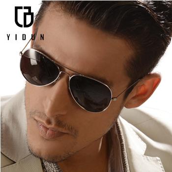 Free shipping YIDUN Eyewear Sunglasses Polarized light UV Protection Eyeglasses men Driving K2100(China (Mainland))