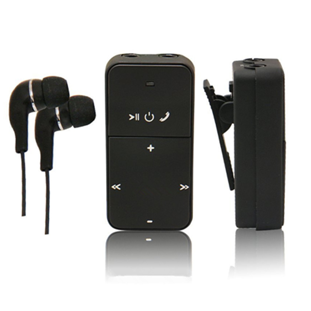 dual stereo bluetooth headphone earphone headset bluetooth music receiv. Black Bedroom Furniture Sets. Home Design Ideas
