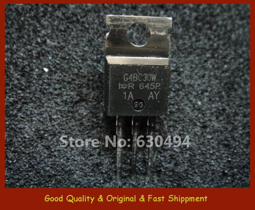 Free Shipping IRG4BC30W QTY 10 IGBT WARP 600V 23A 3-TO220 INTERNATIONAL RECTIFIER(China (Mainland))