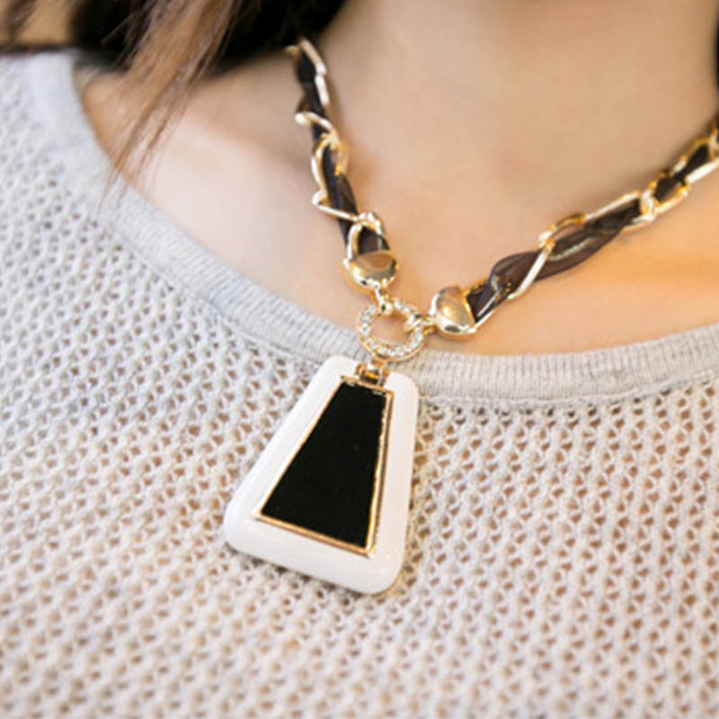 Women Pendant Necklace European and American High Quality Sweater Long Chain Fashion Jewelry Accessories(China (Mainland))