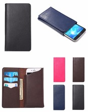 """Buy Universal Wallet Card Money Case Leather Case Meizu M3 Mini/M3S Mini/M3s Mini Pro/Meizu M3S 5"""" Card Slots for $4.45 in AliExpress store"""