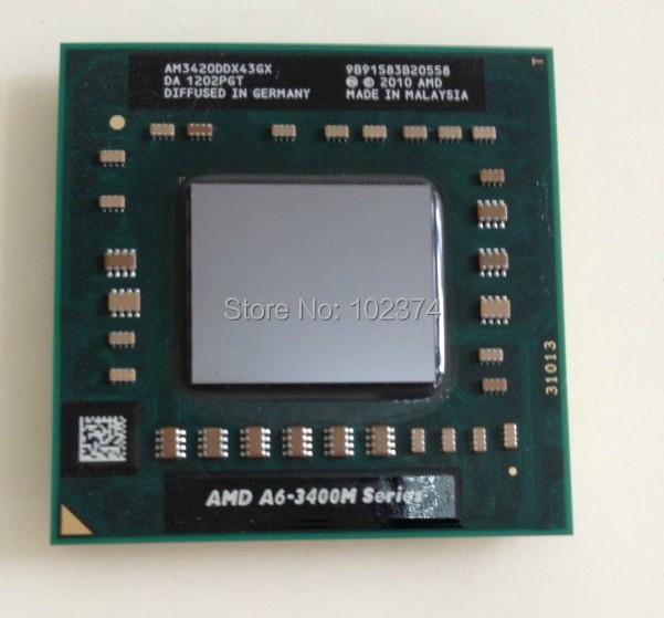 A6 3420M Quad-Core A6-3420M 1.5Ghz to 2.4Ghz Socket FS1 AM3420DDX43GX A6-Series notebook CPU PROCESSOR(China (Mainland))