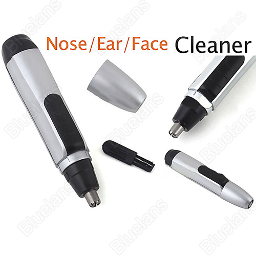 New Electronic Nose Ear Face Hair Trimmer Shaver Clipper Cleaner Sale 1FHI(China (Mainland))