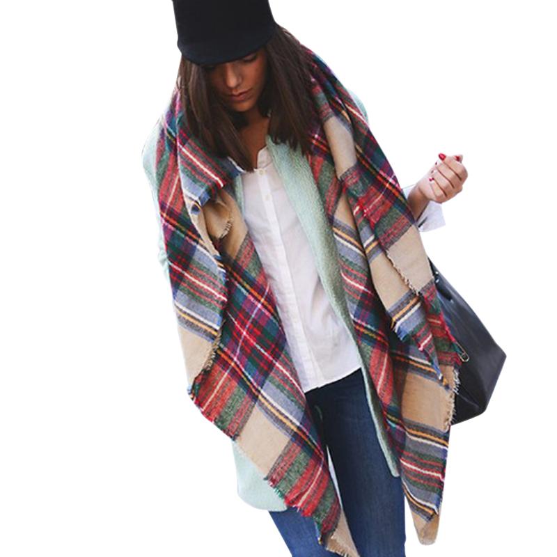 aliexpress buy winter 2016 tartan scarf plaid scarf