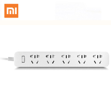 Buy XIAOMI Mi Strip 5 Power Sockets Smart Power Strip Plug Intelligent Electrical Multi Adapter 2m Independent Safety 100% Original for $16.56 in AliExpress store