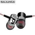 New GLAUPSUS G1 In Ear Earphone HIFI Quality Sound fone de ouvido Metal Subwoofer Headset with