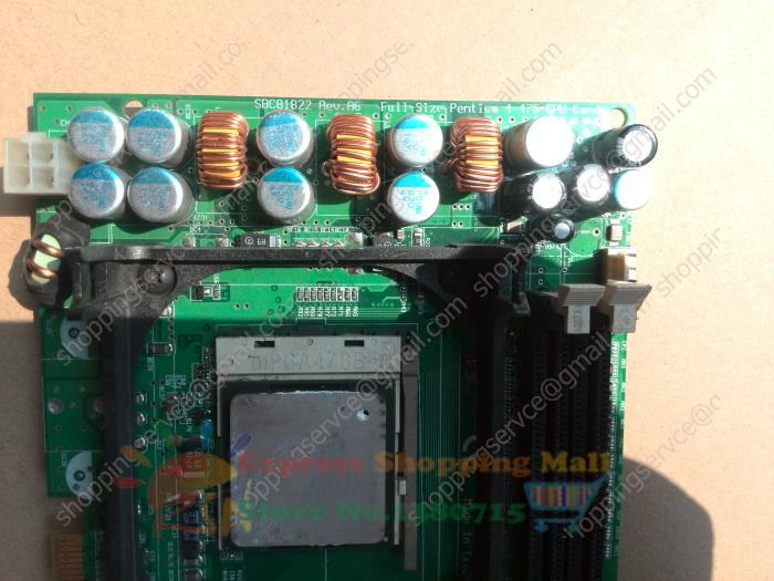 Industrail motherboard SBC 81822 Rev A6 industrial Carter new CPU memory onboard network port