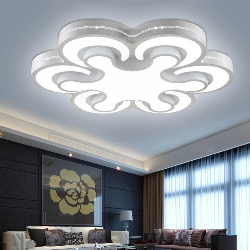 Hot Surface Mounted Modern led ceiling lights for living room bedroom fashion modern led ceiling lamp for home luminaria teto(China (Mainland))