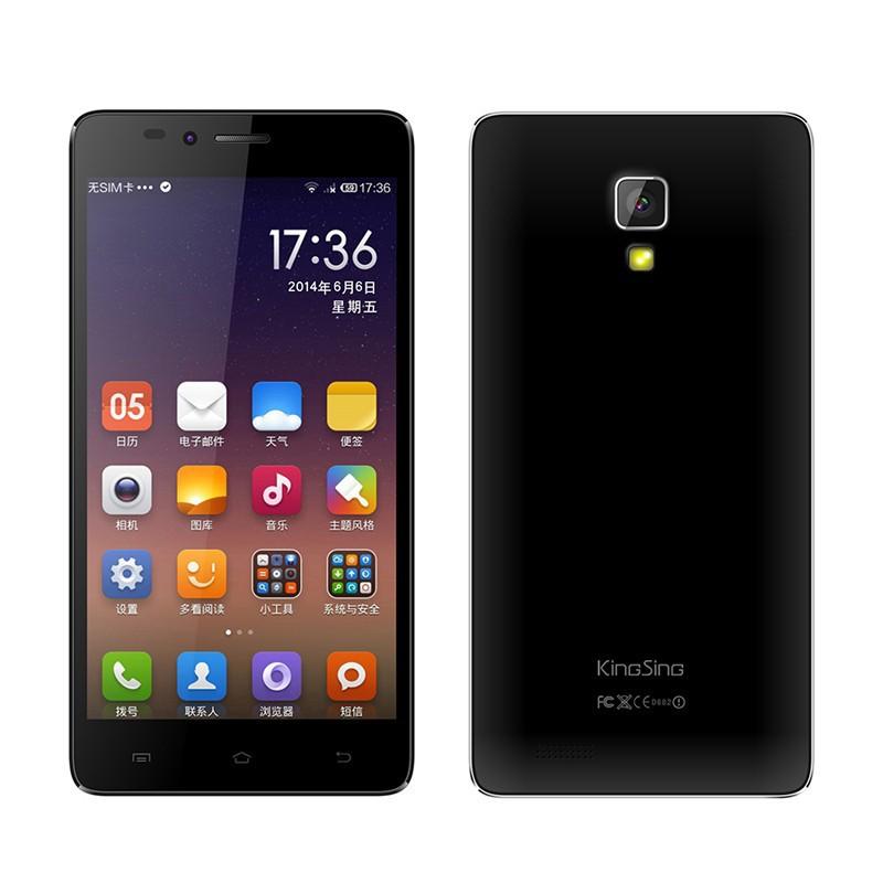 Original KingSing T8 5.0 Inch MTK6592M Octa Core Android 4.4 Cell Phone 1GB RAM 8GB ROM 5MP Camara 3G WCDMA Smart Mobile Phone(China (Mainland))