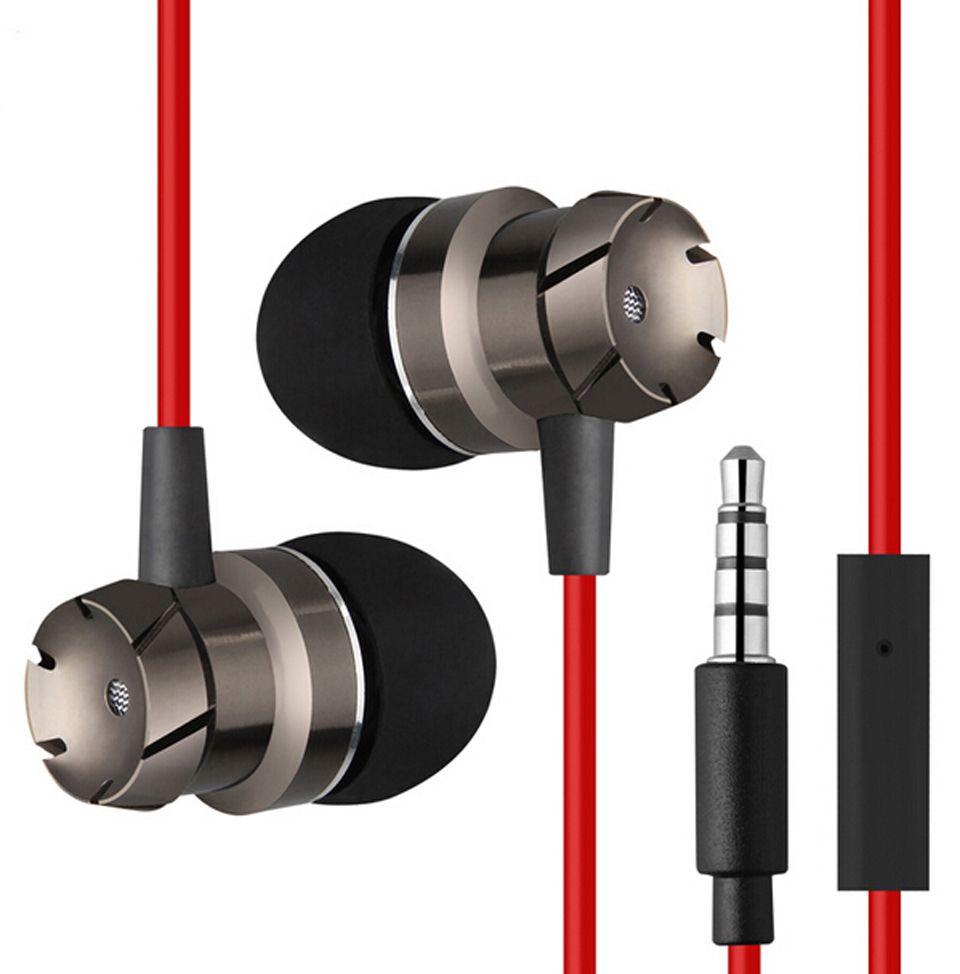 3.5mm In-Ear Turbo Design Earphones Metal Earbuds Stereo Super Bass Headset Handsfree With Mic For Mobile Phone MP3(China (Mainland))