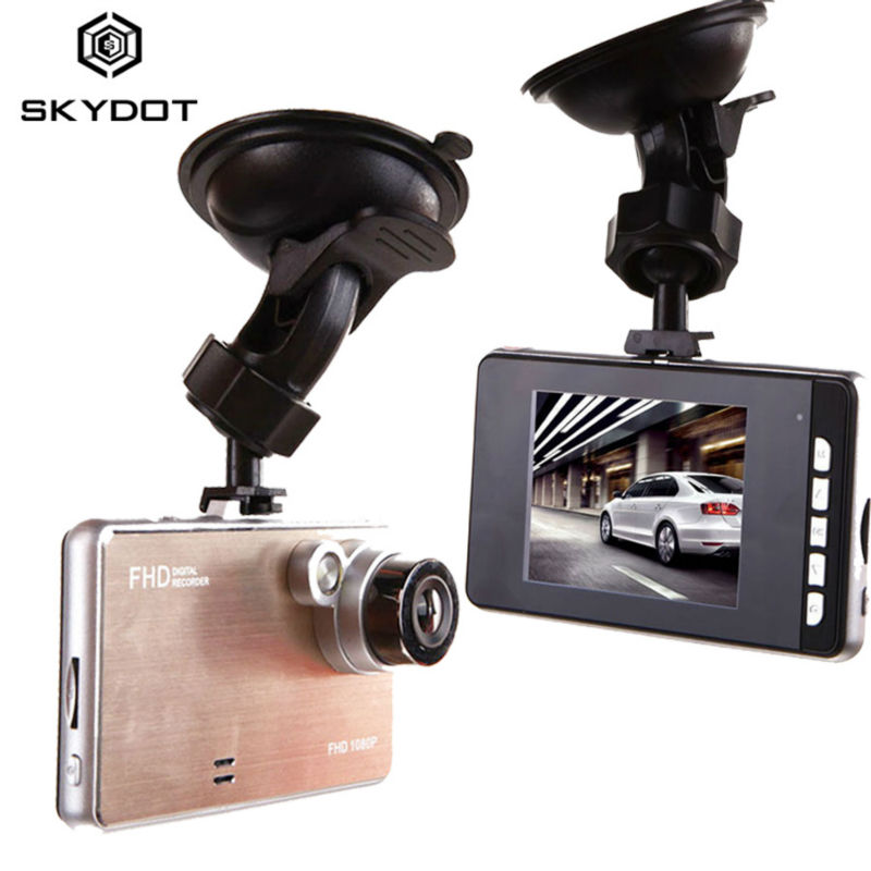 """720P HD Car DVR Camera 2.4"""" Display Vehicle Video Recorder With G-sensor Motion Detection Dash Cam Support Multi Language TF SD(China (Mainland))"""