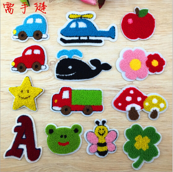 Fashion Motif cloth badge patch clothes embroidered patches applique decorative DIY accessory hot ironing Label patchwork(China (Mainland))