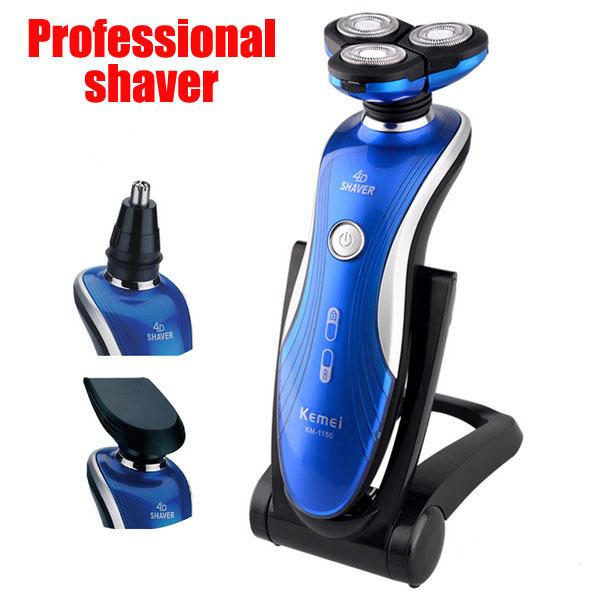 Мощный электробритвы для мужчин аккумуляторная бритья для резки мужская машинка для ...