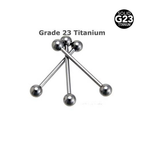 10pcs/lot Two Size G23 Titanium Tongue Ring Silver Tongue Barbell Bars Body Piercing Jewelry Pircing Omliga Free Shipping<br><br>Aliexpress