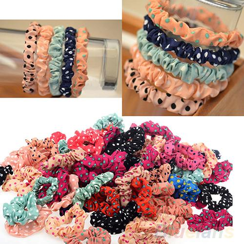 10pcs/set Lots Cute Sweet Girl Elastic Hair Band Ponytail Holder Accessories Headwear 00ZO