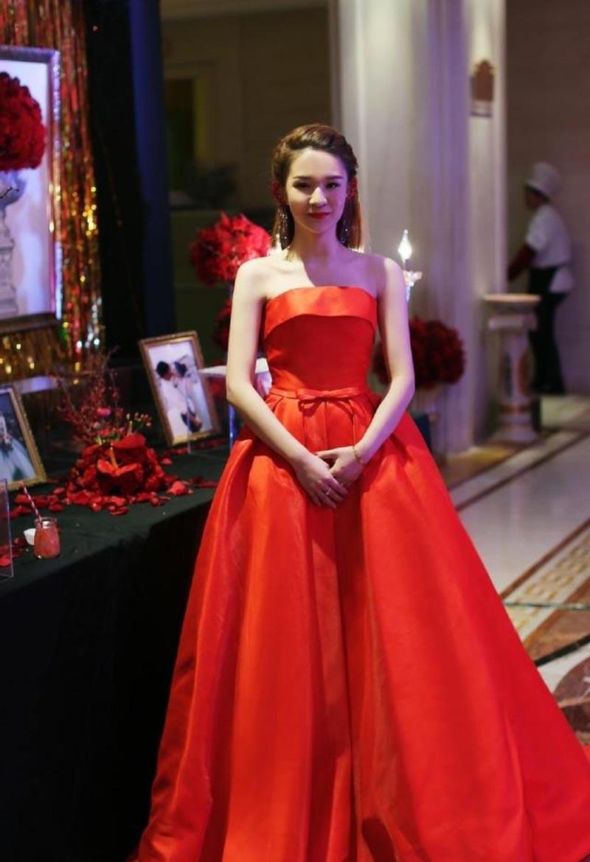 sexy red long evening dress formal dresses abendkleider 2016 A-line evening gown vestido de festa custom made plus size 26W(China (Mainland))
