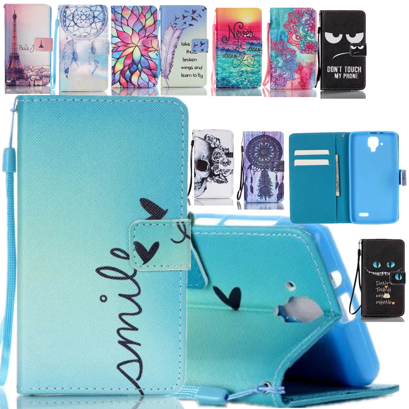 Brand Wallet Leather Cute Cartoon Pet Design Phone Case For Coque Lenovo A536 Back Cover Card Holder Stand Fundas(China (Mainland))