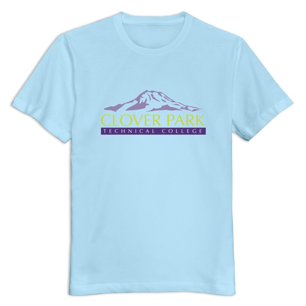 New 2015 clover park technical college men t shirt print for T shirts for college guys
