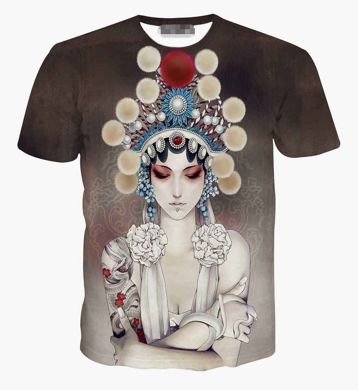 2015 wholesale hot sale men 3d printing t shirt beijing for T shirt printing in bulk
