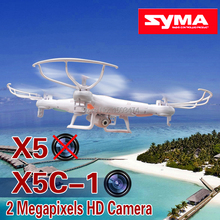 2015 version SYMA White X5 RC Drone / X5C-1 Quadcopter with 2 Megapixels HD Camera 2.4G 6-Axis Medium Helicopter Quad copter Toy