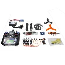 F14884-F DIY RC Drone Quadrocopter RTF X4M250L Frame Kit QQ Super Flysky FS-i6