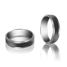 New Style 3 Size Simple Stainless steel Ring for Men And Women Gifts Fashion Men Rings Free Shipping(China (Mainland))