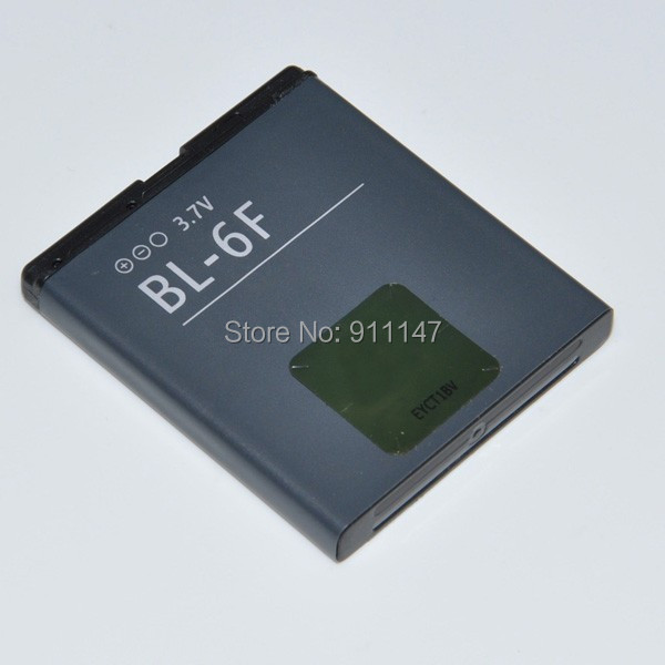 BL-6F BL 6F BL6F Battery For Nokia Cellular N78 N79 N93i N95 8GB N96 6788 Mobile Cell Phone 1200mah Free Shipping(China (Mainland))