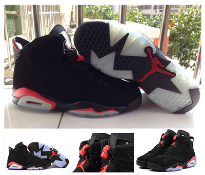 2016 mens air jordan 6 7 8 vi retro shoes mid infrared white red black sliver for sale with original man size US 8 to 13(China (Mainland))
