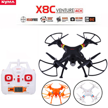 SYMA X8C X8 2.4G 4CH 6Axis Professional RC Drone Quadcopter With 2MP Wide Angle HD Camera Remote Control Helicopter 2016 Newest