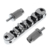 Electric Guitar Roller Saddle Tune-O-Matic Bridge Locking Bridge Chrome