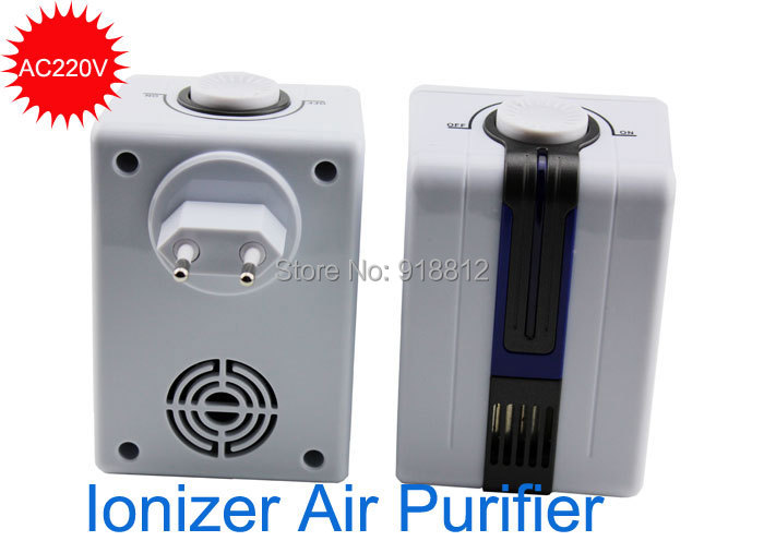 ionizer air purifier for home negative ion generator 12million AC220V remove Formaldehyde Smoke Dust Purification pm2.5(China (Mainland))