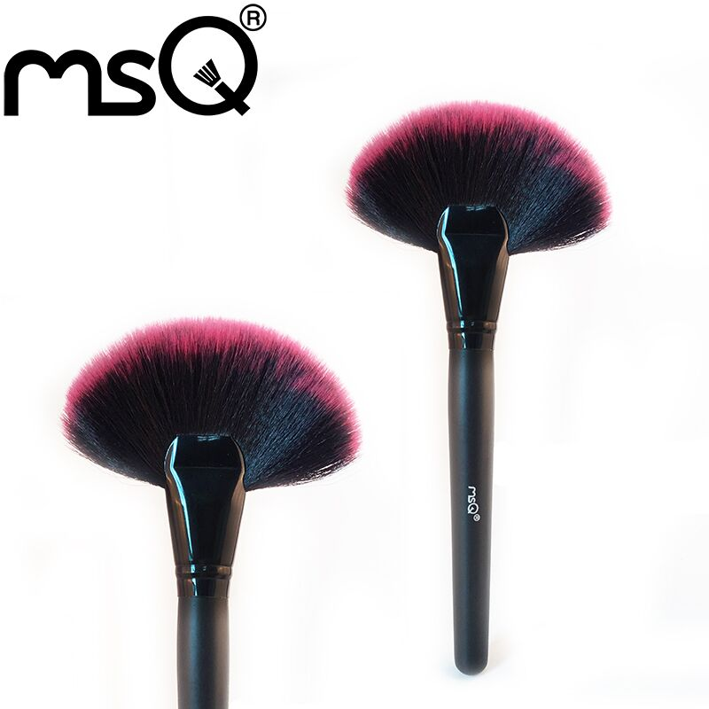 Free shipping brand MSQ large Facial Fan Brushes<br><br>Aliexpress