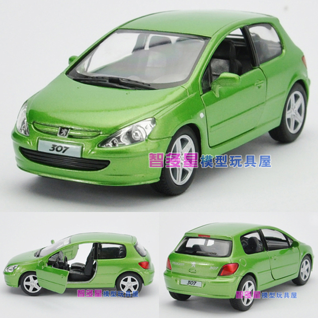 Soft world 307 WARRIOR pulchritudinous alloy car model toy