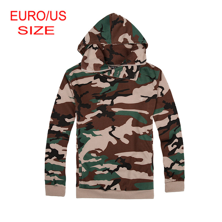 Ship from US Camouflage Men Hoodies Plus Size Army Style Hoodies XS-XXXL US Warehouse(China (Mainland))