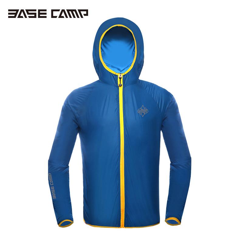 Free Shipping BASECAMP Hot ! 5 Colors Cycling Sportswear Wind Coat Rain Coat Windproof Jersey Cycling Hooded Long Sleeve Jacket<br><br>Aliexpress