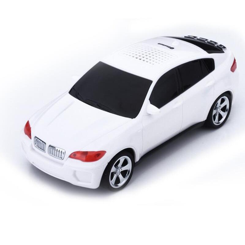 Car Shape Mini Portable Wireless Bluetooth Speaker(China (Mainland))