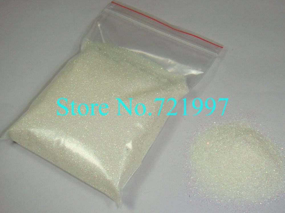 50g/bag Rainbow White Color Shining Nail Glitter Dust Powder for Nail Art DIY decoration(China (Mainland))