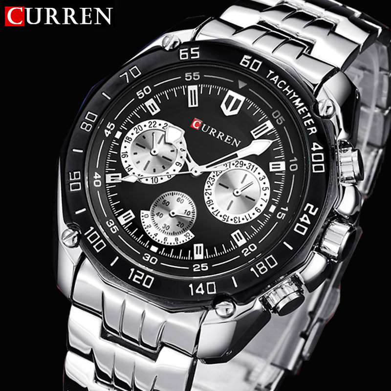 Curren watches men quartzwatch relogio masculino luxury military wristwatches fashion casual water Resistant army sports watch(China (Mainland))